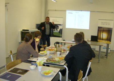 Morten Egeskov, Kongens Ø Gruppen fortæller borgmester Mikkel Wammen og Frank Jensen om Kongens Ø Gruppen.