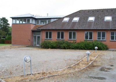 Bygning 3 på Kongens Ø Munkerup indeholder mange fællesrum og opholdsstuer, det er også her man finder Restaurant Øen