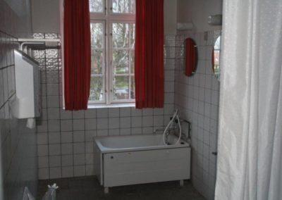 Alle sanitære forhold er optimale ved Kongens Ø Munkerup